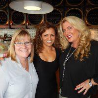 Proud mamas, Charmis De Boer, left, Hanifa Ladha and Andrea Armstrong.