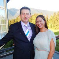 Rudy Zaepernick and Sofia Sayani.