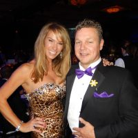 The spectacular Julie Cooper and husband Ashley of Palladin Security.