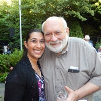 Yasmin Abidi and Vancouver actor Jay Brazeau