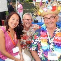 West Vancouver Foundation's Delaina Bell, direct Mark Ballard and councillor Bill Soprovich