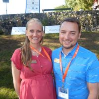 Christina Roorda and Blair Hirtle of Amica