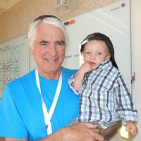 West Vancouver Foundation past chair Gerry Humphries with his grandson Alexander