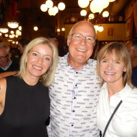 Morning anchor Randene Neill, left, with reporter Linda Aylesworth and husband John
