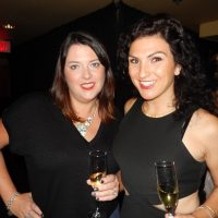 Variety BC's Kristy Gill, left, and Danielle Sleiman