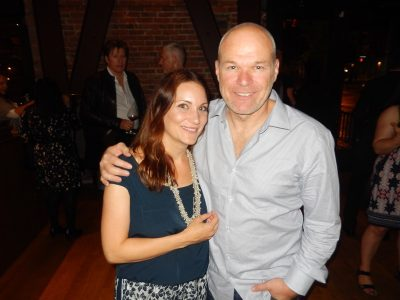Helping host the event at their Michelin star restaurant Bauhaus are Natalie and Uwe Boll