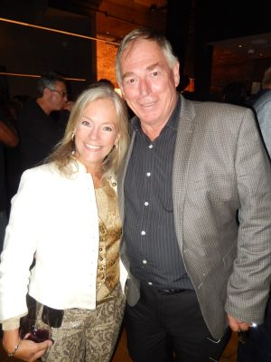 Actor Gary Chalk and wife Colleen Nystedt celebrated their anniversary this night.