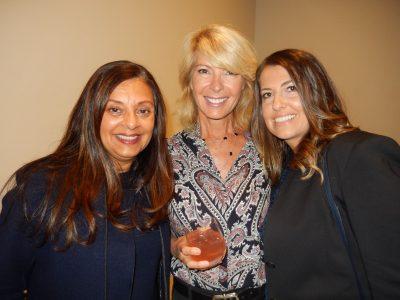 Nina Cassils, left, Jill Lyall and Filia Glavas