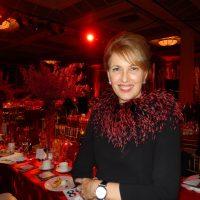 Acting as the evening's MC, CBC's Gloria Macarenko