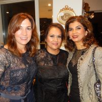 Coryn Hemsley, left, Fahimeh Abghari and Maryam Baradaran