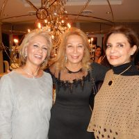 Shahla Jobani, left, with Clara Agopian and Nossi  Salimian