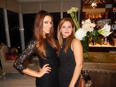 Yegi Nasseri, left, and Peggy Riahi