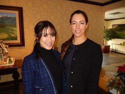Chin Ho, left and Sarah Penikett of British Pacific Properties.