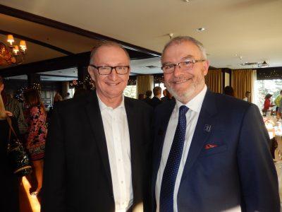 Real Estate Board president Dan Morrison, left, and Keith Leidtke.