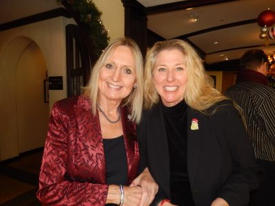 Suttons Deborah Spicer, left, and Re/Max's Leesa Vreugde.