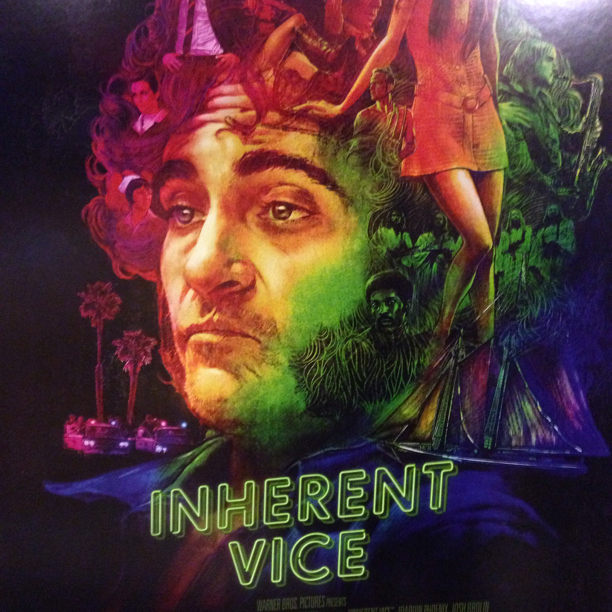 Inherent Vice Starring Joaquin Phoenix