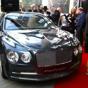 Vancouver Bentley Flying Spur Launch Event