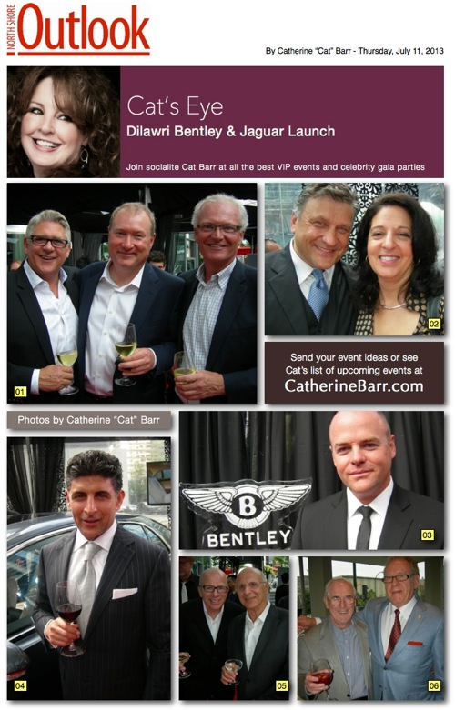 Bentley jaguar launch vancouver