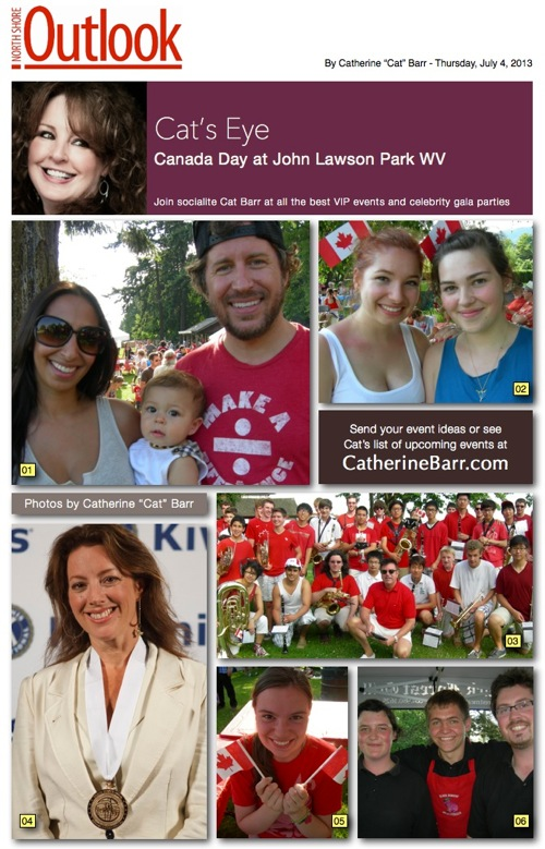 Canada day west vancouver
