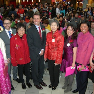 Asian New Year Festival in West Vancouver