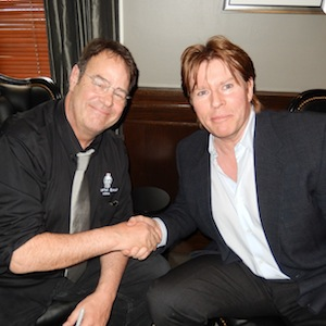 Dan Aykroyd and Hillary Clinton Gala