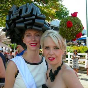 Deighton Cup Dresses Up Vancouver at Hasting Race Course
