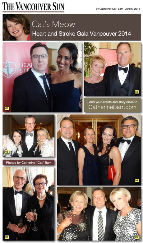 Heart and Stroke Gala 2014 Vancouver