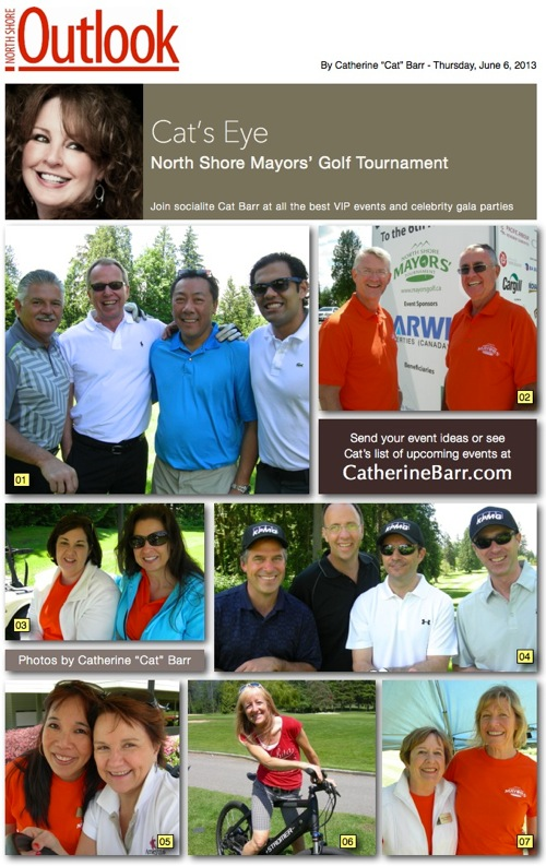 Northshore mayors golf northvancouver