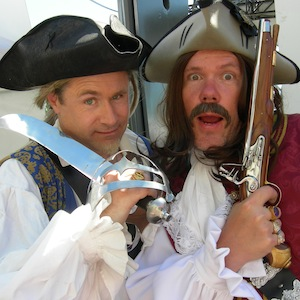 Party at the Pier and Pirates in North Vancouver