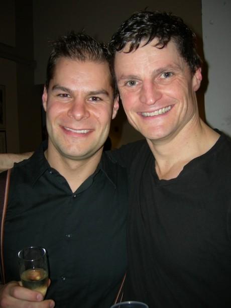 Kyle Jespersen, left, and Bob Frazer